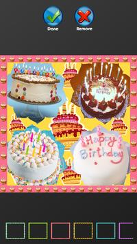 Birthday Cake Photo Collage For Android
