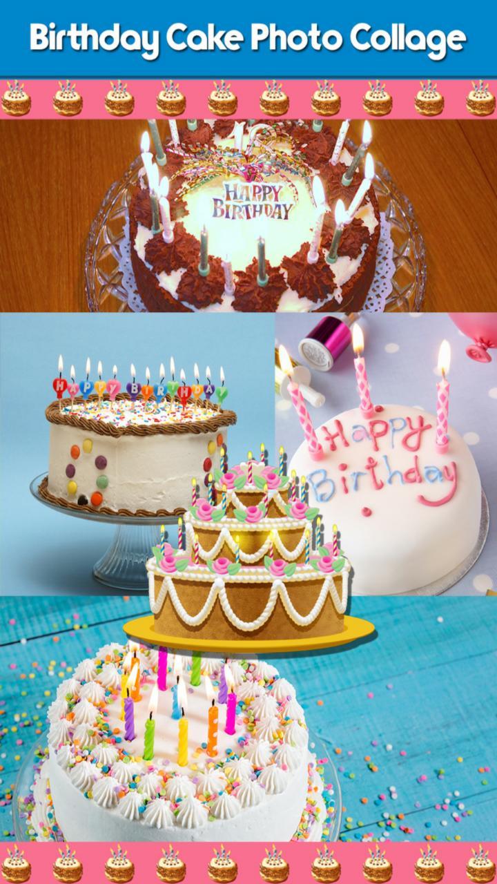 Kolase foto kue ulang tahun for Android   APK Download