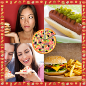 Fast Food Photo Collage icon