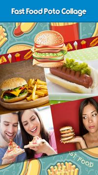 Fast Food Photo Collage poster