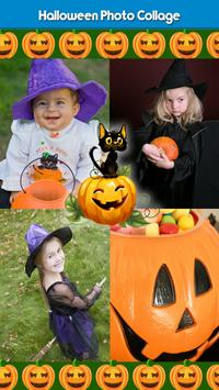 Halloween Photo Collage poster