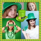 St. Patricks Day Collage icon