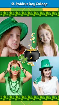 St. Patricks Day Collage poster