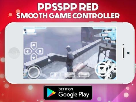 PPSSPP RED - PREMUIM PSP EMULATOR SIMULATOR screenshot 1