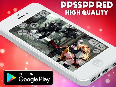PPSSPP RED - PREMUIM PSP EMULATOR SIMULATOR screenshot 2