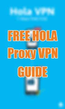New Hola Proxy VPN Tip poster