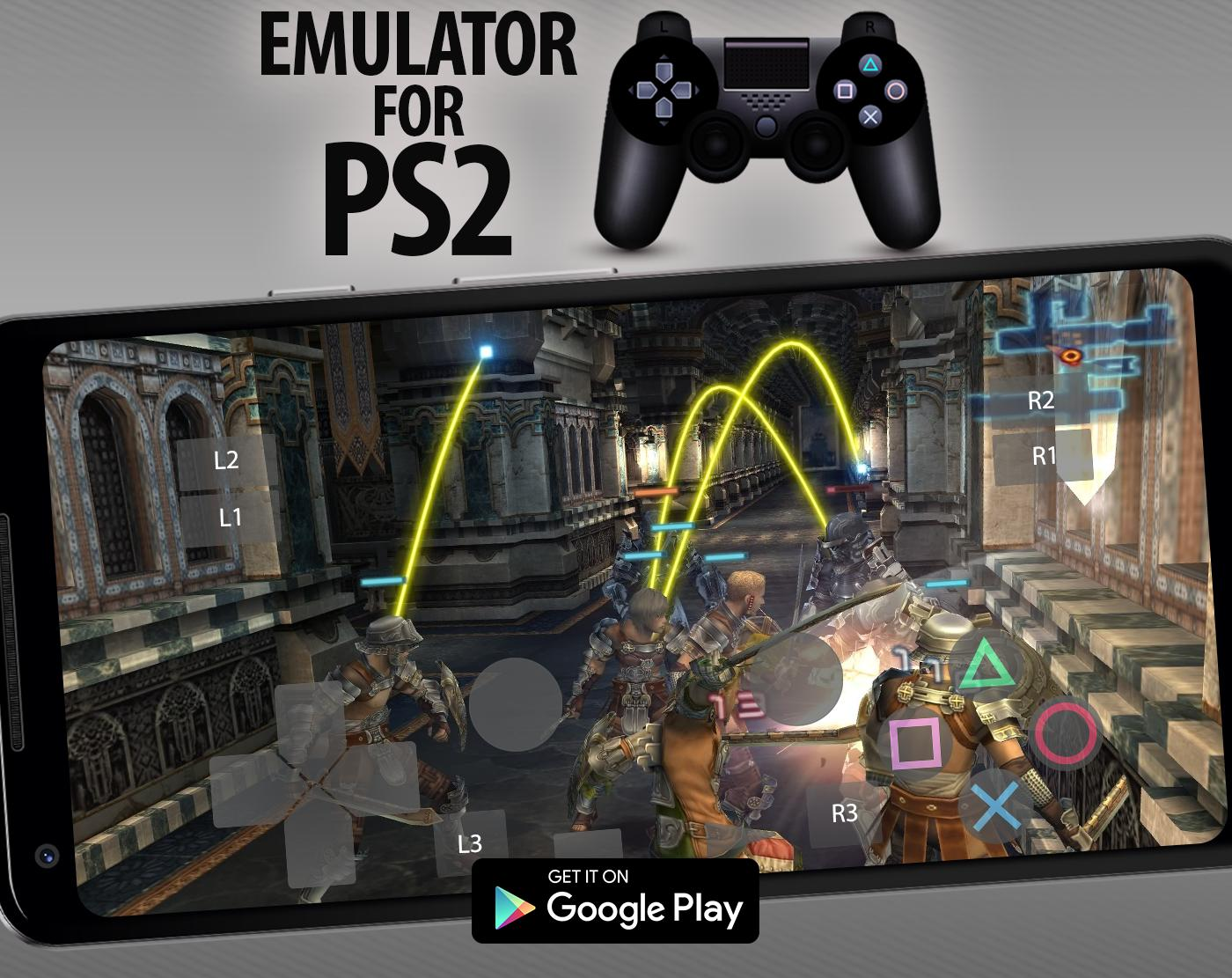 PRO PS2 Emulator - Free Emulator For PS2 for Android - APK