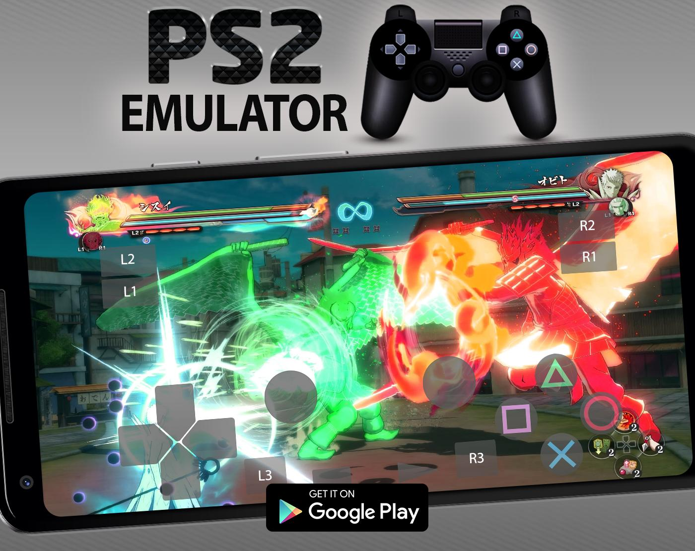 real ps2 (playstation 2) android emulator