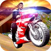 Racing On Bike 3D icon