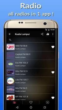 📡Malasya Radio Stations FM-AM poster