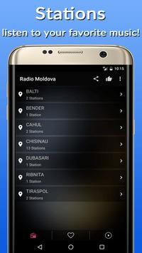 📡Moldova Radio Stations FM-AM apk screenshot