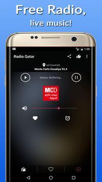 📡Qatar Radio Stations FM-AM apk screenshot