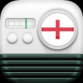 📡England Radio Stations FM-AM icon