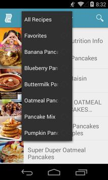 Pancake Recipes Free apk screenshot