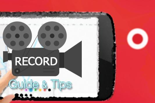 Free Screen Recoder Advice apk screenshot