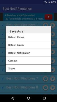 Best Notif Ringtones Free apk screenshot