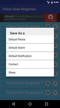 Best Police Siren Ringtones apk screenshot