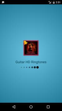 Free Guitar HD Ringtones poster