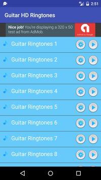 Free Guitar HD Ringtones apk screenshot
