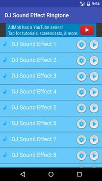 Free DJ Sound Effect Ringtone apk screenshot