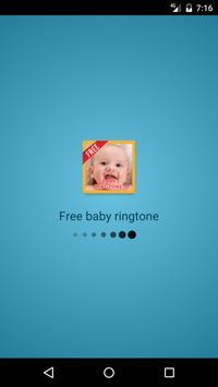 Free Baby Ringtone HD poster