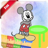 Coloring Book Mickey Mice Tips icon