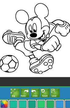 Coloring Book Mickey Mice Tips poster