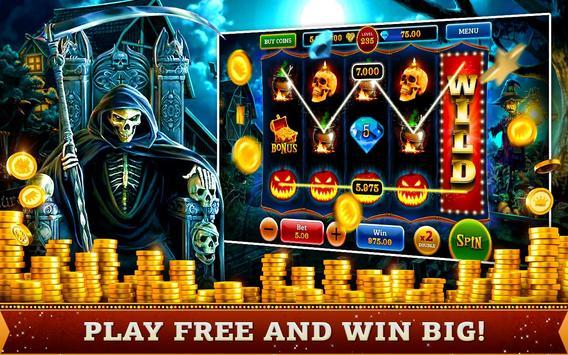 halloween fortune free slots poster halloween fortune free slots apk screenshot