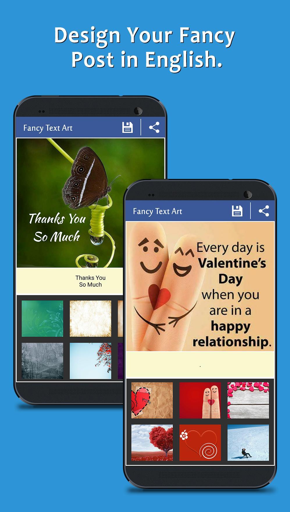 Fancy Text Art - Post Maker poster