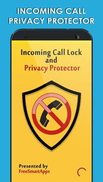 Incoming Call Lock - Protector poster