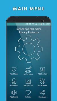 Incoming Call Lock - Protector screenshot 1