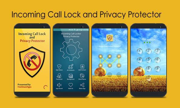 Incoming Call Lock - Protector screenshot 7