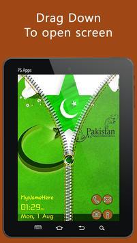 Independence Day Zipper Lock apk screenshot