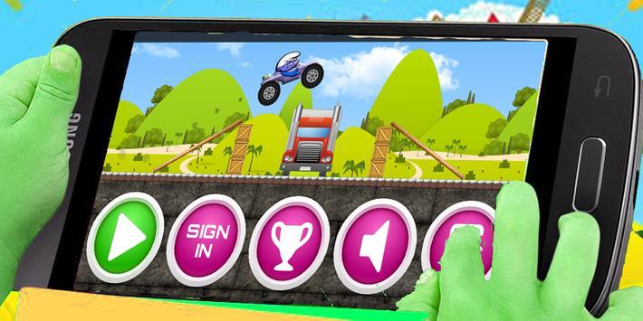 Free Smurf Car Adventure apk screenshot
