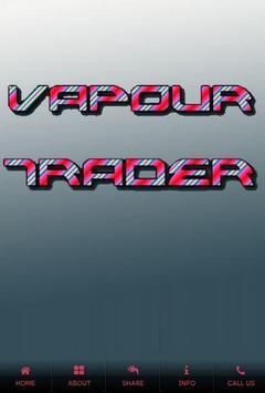 Vapour Trader Wigan poster