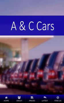 A & C Cars poster