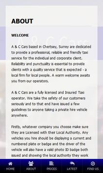 A & C Cars apk screenshot