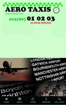 Aero Taxis poster