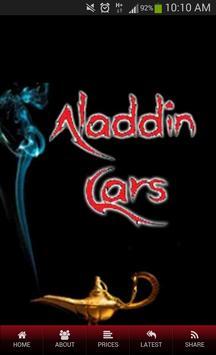 Aladdin Cars poster