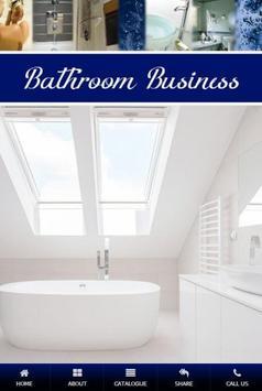 Bathroom Business poster
