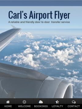 Carls Airport Flyer poster