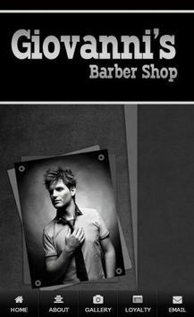Giovannis Barber Shop poster
