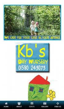 KBs Day Nursery poster