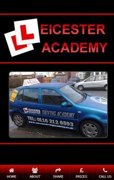 Leicester Driving Academy poster