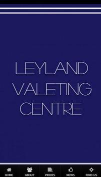 Leyland Valeting Centre poster