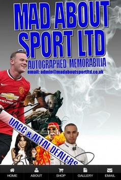 Mad About Sport Ltd poster