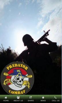 Predator Combat poster