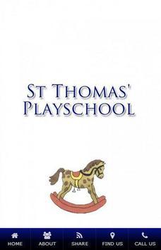 ST THOMAS' PLAYSCHOOL poster