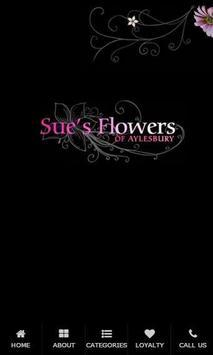 Sue's Florist poster