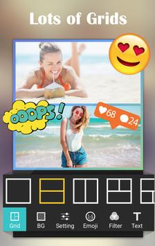 Collage Photo Editor Plus+ poster